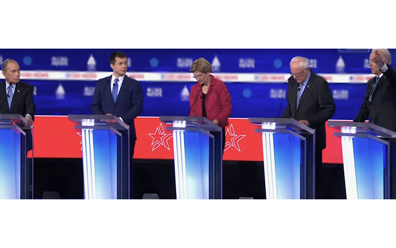 Democratic Debate Pro-abortion Hypocrisy