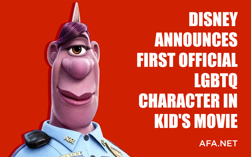 Disney Announces First Official LGBTQ Character in Kid's Movie