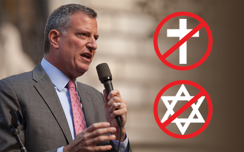 Mayor de Blasio, You Have Overstepped Your Bounds