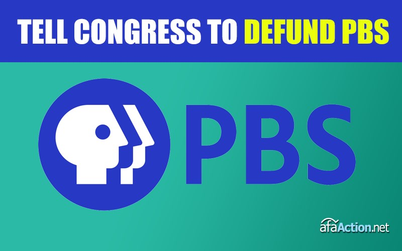 Tell Congress to defund public broadcasting