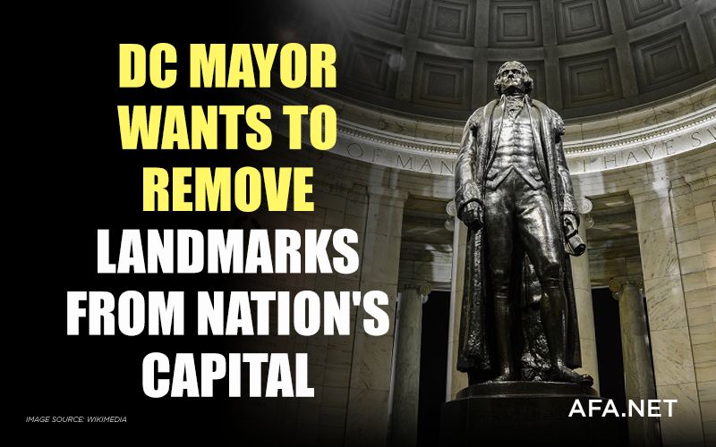 D.C. mayor pushing to remove historical Washington monuments, statues