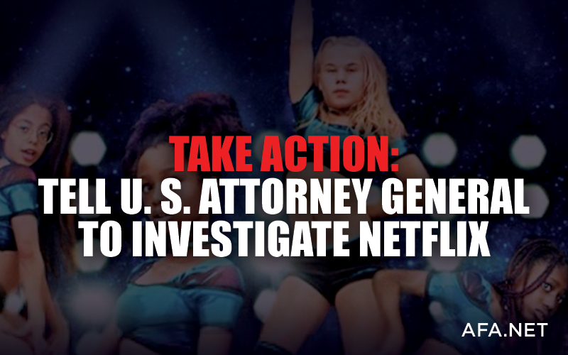 Join Sen. Ted Cruz in urging U. S Attorney General to investigate Netflix