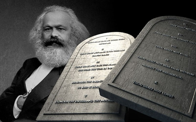 Ten Commandments Rule Out Socialism
