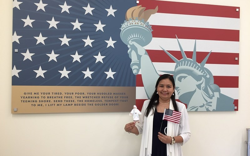 New Citizen Excited About First Time to Vote
