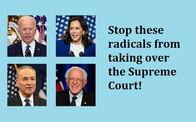 Tell your elected officials to stop the takeover of the Supreme Court